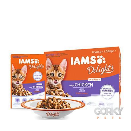 IAMS Cat Saquetas - Kitten Multibox