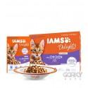 IAMS Cat Delights - Saquetas Kitten Multibox