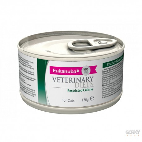 Eukanuba VET DIET Cat - Latas Restricted Calories
