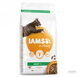 IAMS Cat for Vitality Adult - Salmão