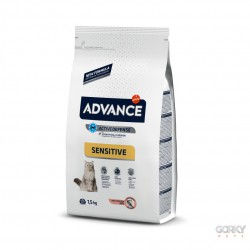 ADVANCE Cat Adult Sensitive - Salmão & Arroz