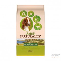 IAMS Dog Naturally - Borrego & Arroz