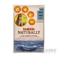 IAMS Cat Naturally - Saquetas Atum
