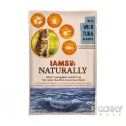 IAMS Cat Naturally - Saquetas Atum