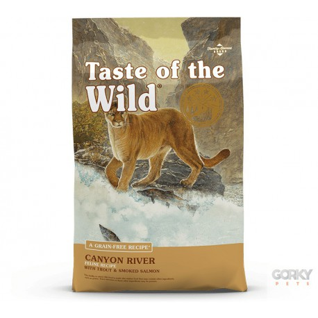 Taste of the Wild - TRUTA & SALMÃO - Feline Canyon River
