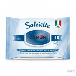 Toalhitas Desinfectantes c/ aroma a Talco - CAMON
