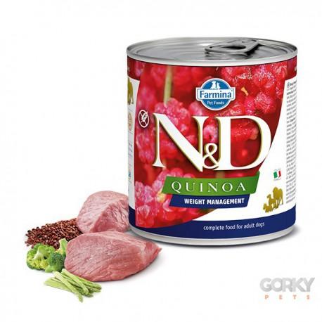 N&D Dog (GF Quinoa) - Latas Gestão de Peso