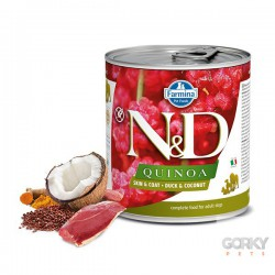 N&D Dog (GF Quinoa) - Latas Skin Coat Pato