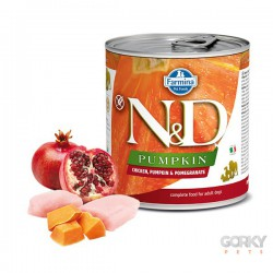 N&D Dog (GF Abóbora) - Latas Adult Frango