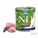 N&D Dog (Grain Free) - Latas Adult Borrego