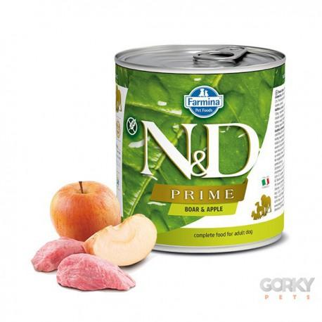N&D Dog (Grain Free) - Latas Adult Javali