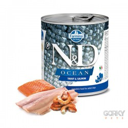 N&D Dog (GF OCEAN) - Latas Adult Truta & Salmão