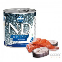 N&D Dog (GF OCEAN) - Latas Adult Salmão & Bacalhau