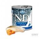 N&D Dog (GF OCEAN) - Latas Adult Bacalhau & Camarão