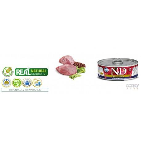 N&D Cat (GF Quinoa) - Latas Gestão de Peso
