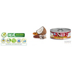 N&D Cat (GF Quinoa) - Latas Skin & Coat Arenque
