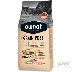 OWNAT Dog Grain Free - Salmão & Marisco