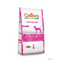 Calibra Dog GRAIN FREE Junior Small - Pato e Batata