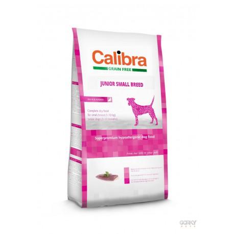Calibra Dog GRAIN FREE Junior Small - Pato e Batata