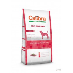 Calibra Dog GRAIN FREE Adult Small - Pato e Batata
