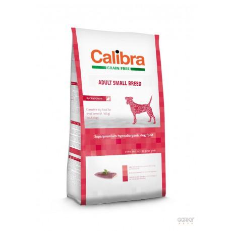 Calibra Dog GRAIN FREE Adult Small - Pato e Batata