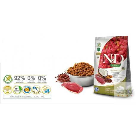 N&D Dog (GF Quinoa) Skin Coat - Pato